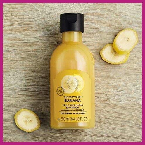 The Body Shop Banana Nourishing Shampoo Review