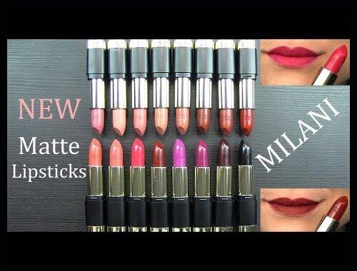 Milani Bold Color Statement Matte Lipstick Review