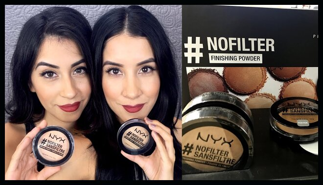 Review on Nyx Professional Makeup Nofilter Finishing Powder